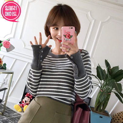 Breton Stripes Knit Top