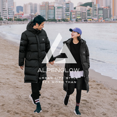 [ALPENGLOW] Hooded Down Puffer Parka