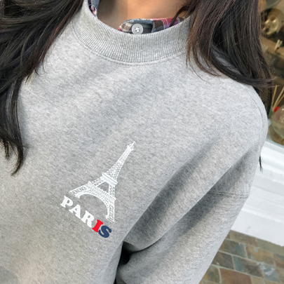 PARIS Printed Sweatshirt