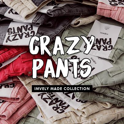 [CRAZY PANTS] High Rise Colored Shorts
