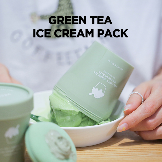 VELY VELY Green Tea Ice Cream Face Mask