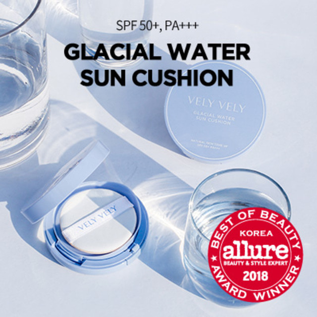 VELY VELY Glacial Water Sun Cushion