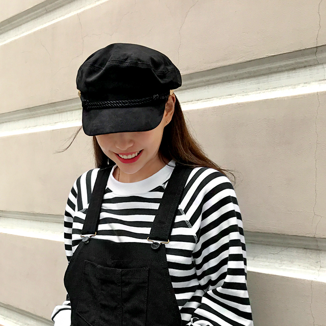 Rope Accent Sailor Cap
