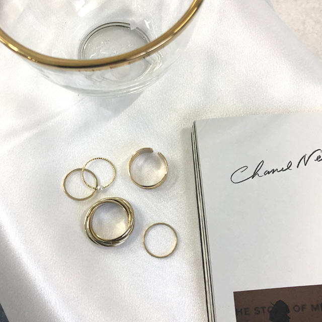 5-Piece Assorted Ring Set