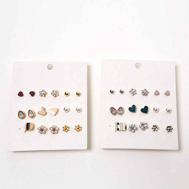 Assorted Pattern Earring Set