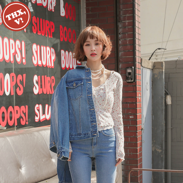 [THX,V] NO.610 Relaxed Fit Denim Jacket