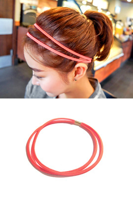 Elastic Two-Strand Headband