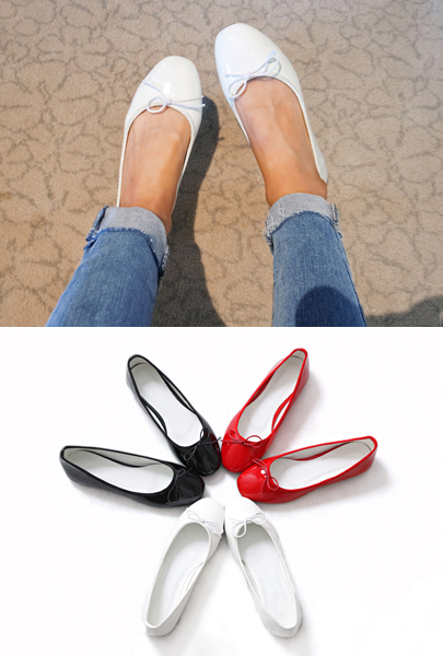 Little Bow Ballerina Flats