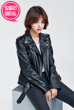 [VELYSOME] Leather Biker Jacket (Black)
