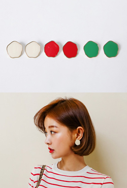 Polygon Stud Earrings