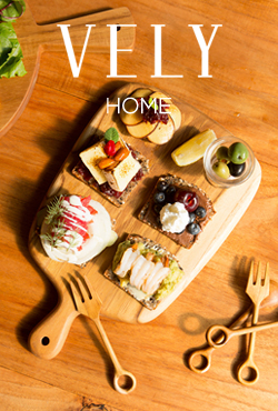 [VELYHOME] Wooden Cutlery Board