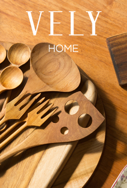 [VELYHOME] Wide Wooden Ladle