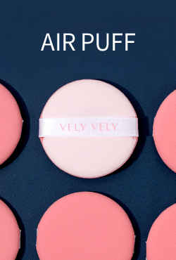 VELY VELY Aura Glow Cushion Air Puff (5 pcs)
