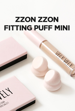 VELY VELY ZZON ZZON Fitting Puff Mini [2ea]