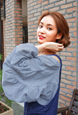 Big Sleeves Off-Shoulder Blouse