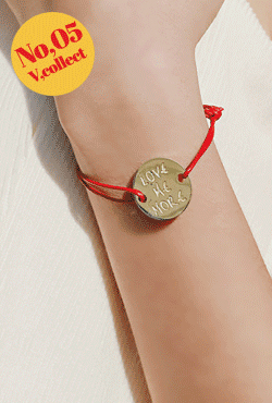 [V,Collect] No,05 Love Me Cord Bracelet