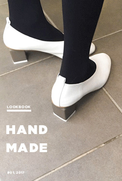 Almond Toe Block-Heeled Pumps