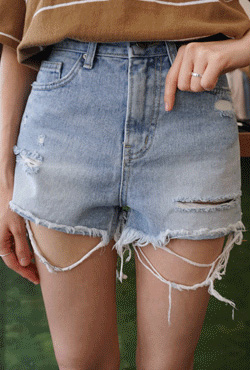 Ripped Cutoff Shorts