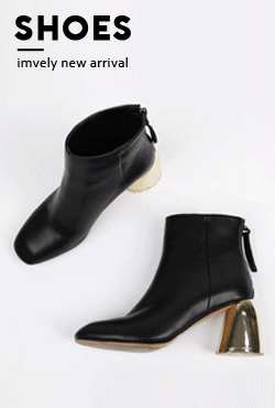 Golden Heel Ankle Boots