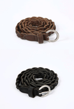 Braided Buckle Belt