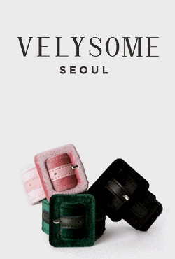 [VELYSOME]Buckled Bracelet