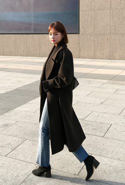 [PREMIUM] Double Breasted Woolen Coat