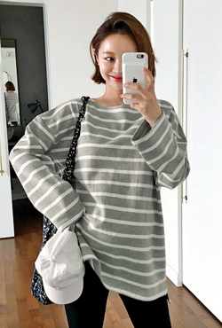 Oversized Boat Neck T-Shirt