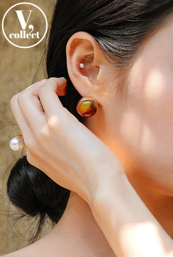 [V,Collect] Amber Earring