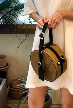 Structured Round Bag