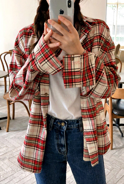 Chest Pocket Check Shirt
