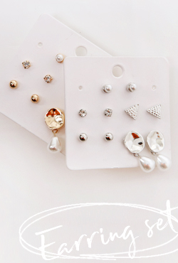 5-Pair Earring Set