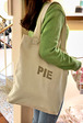 PIE Canvas Tote Bag
