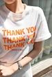 THANK YOU Printed T-Shirt
